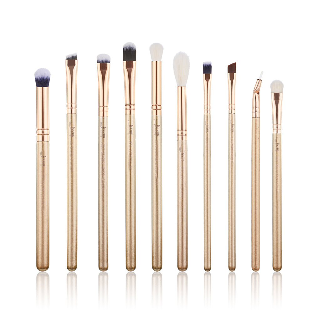 ALCHEMY Eye brushes Set 10Pcs - Jessup Beauty