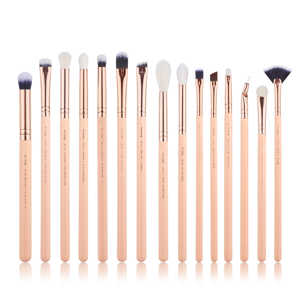 Chrysalid Eye brushes 15 pcs - Jessup Beauty