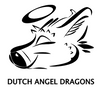 Dutch Angel Dragons Stainless Steel Pint Glass