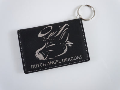 Dutch Angel Dragons Black ID Holder