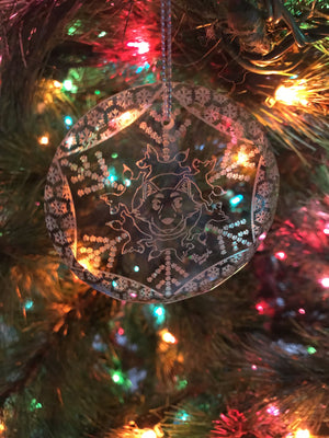 Crystal Winter Ornaments - Exclusive Pawgyle Art