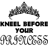 Kneel Before Your Princess Flask Set