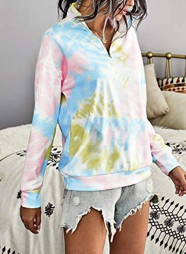 Women's Quarter Zip Pullover Sweatshirt