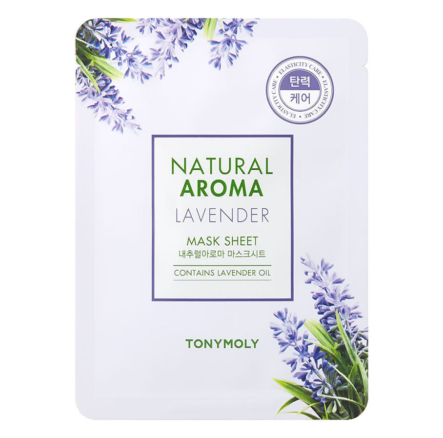 Tony Moly – Natural Aroma Sheet Mask Lavender