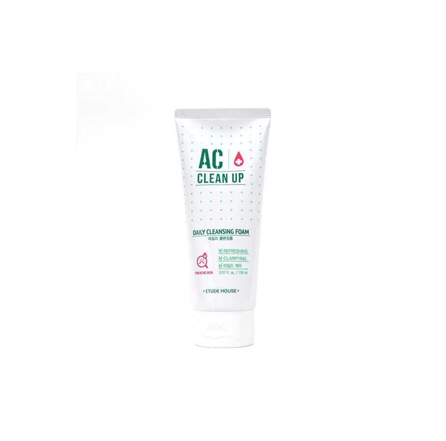 Etude House - AC Clean Up Daily Acne Foam Cleanser 150ml
