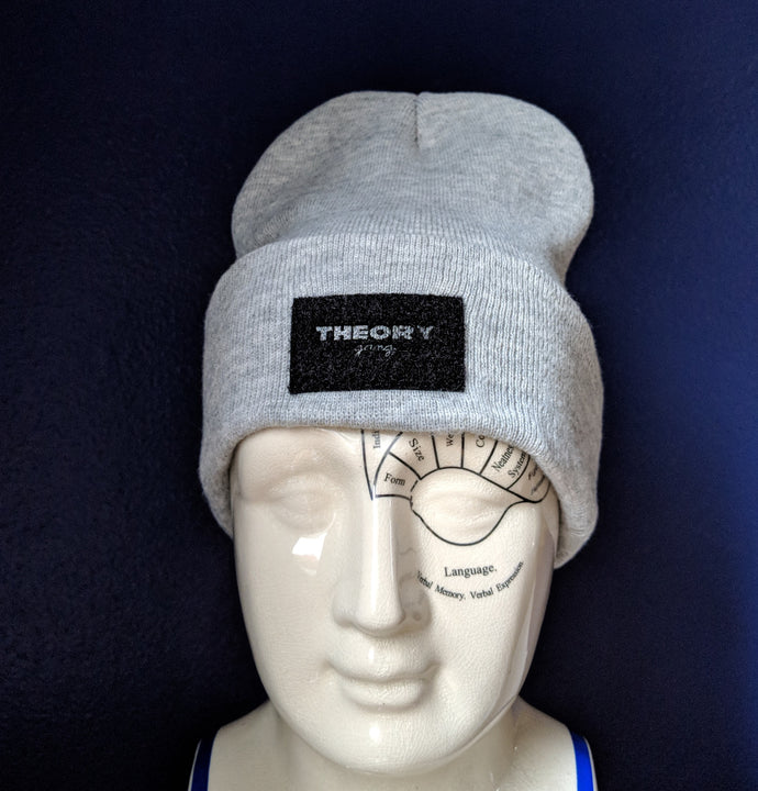 Change My Mind beanie - Theory Gang velcro patch