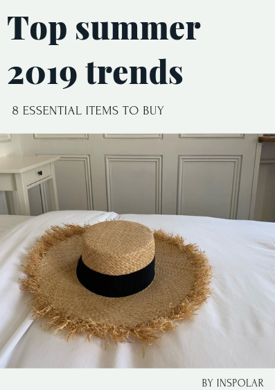Top summer 2019 trends