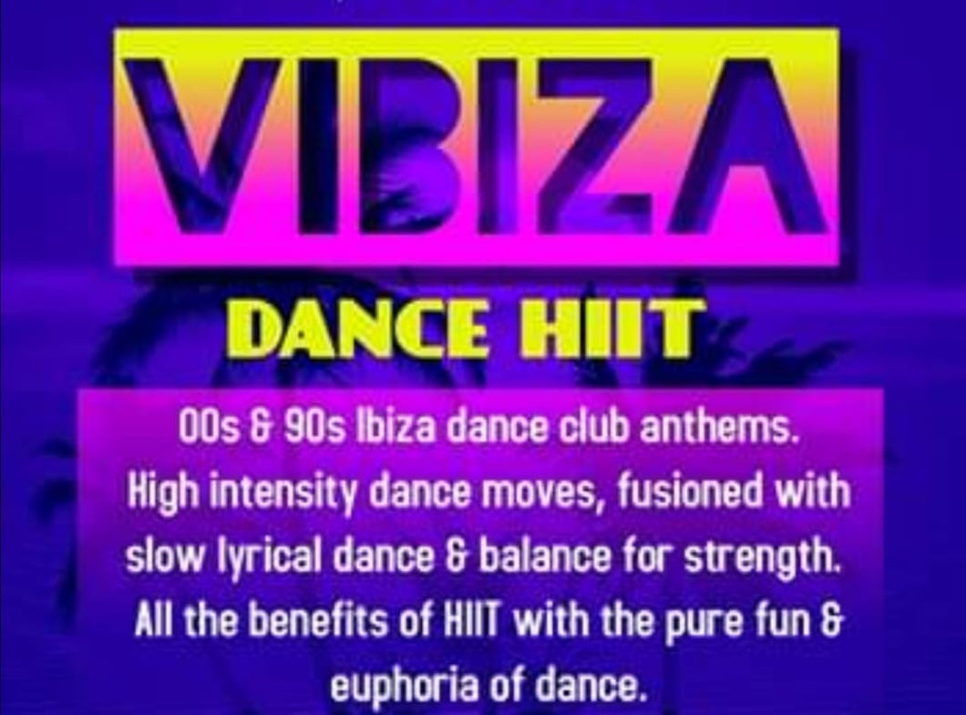 Charity VIBIZA Dance Workout (Card holders Only)