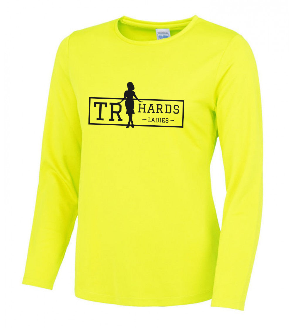 Ladies High-Vis Long Sleeve