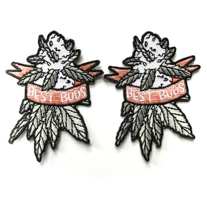 Best Weed Buds Patches (Set of 2)