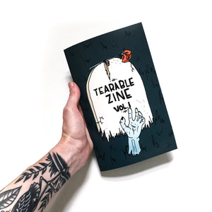 "Tearable Zine Vol 1 ""Halloween Edition"""