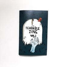 "Load image into Gallery viewer, Tearable Zine Vol 1 ""Halloween Edition"""