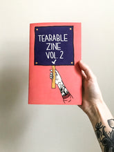 "Load image into Gallery viewer, Tearable Zine Vol 2 ""Signs of the Times"""