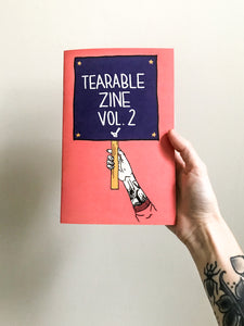 "Tearable Zine Vol 2 ""Signs of the Times"""