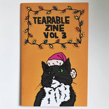 "Load image into Gallery viewer, Tearable Zine Vol 3 ""Holiday SpeCATular"""
