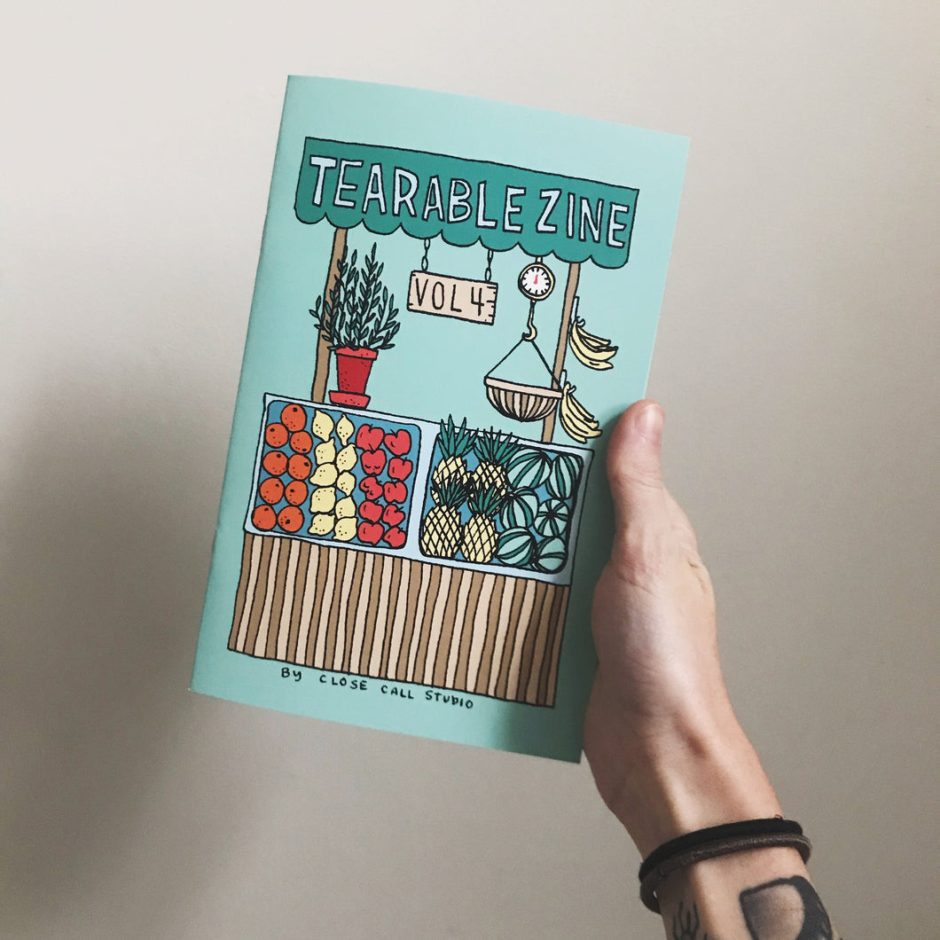 Tearable Zine Vol 4 (Fruit)