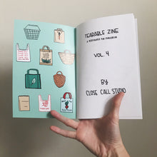 Load image into Gallery viewer, Tearable Zine Vol 4 (Fruit)