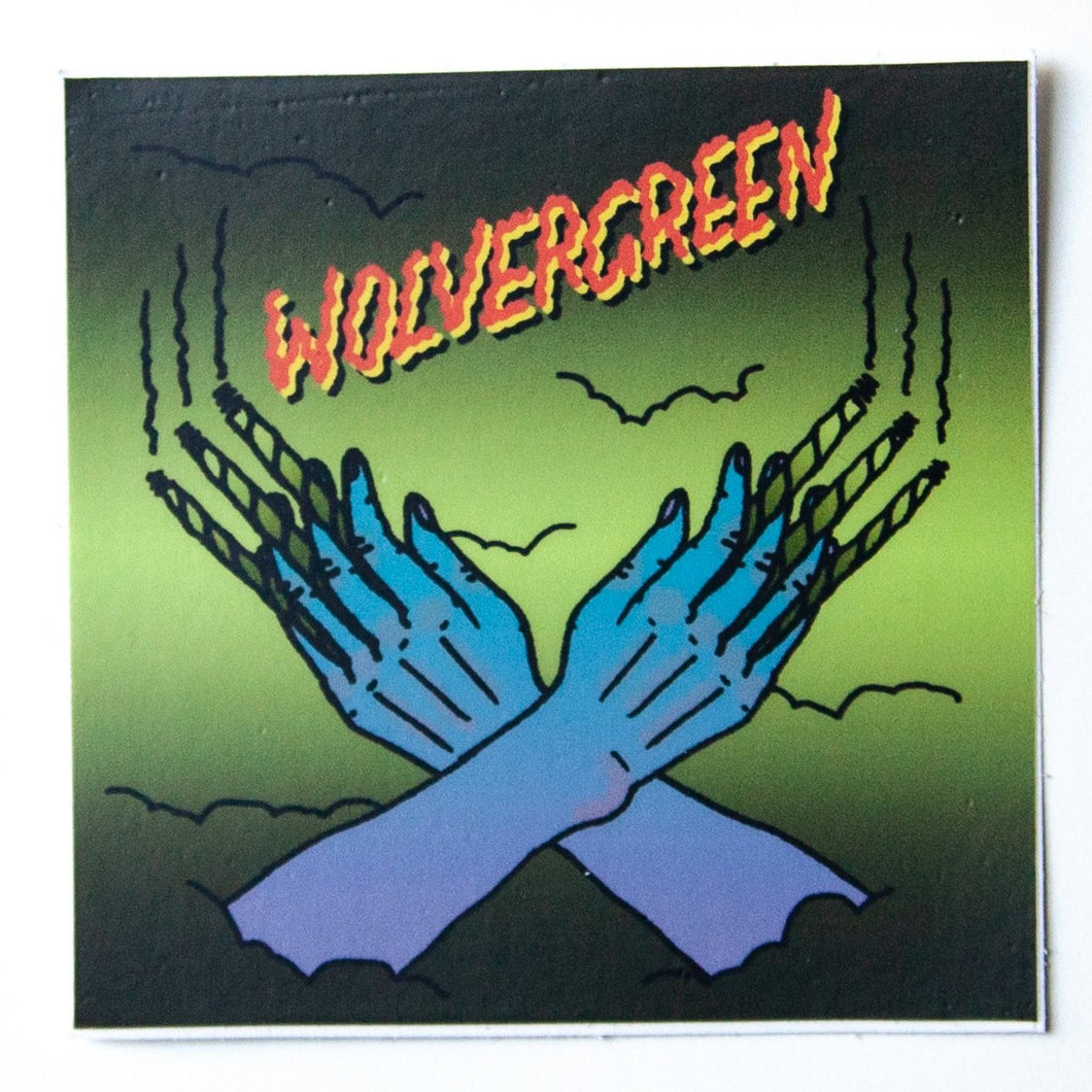 Wolvergreen Sticker