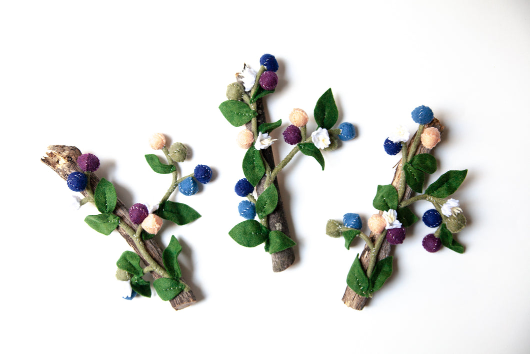 Blueberry Plant Wall Art