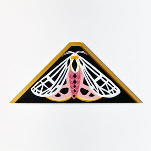 Parthenice Tiger Moth Painting