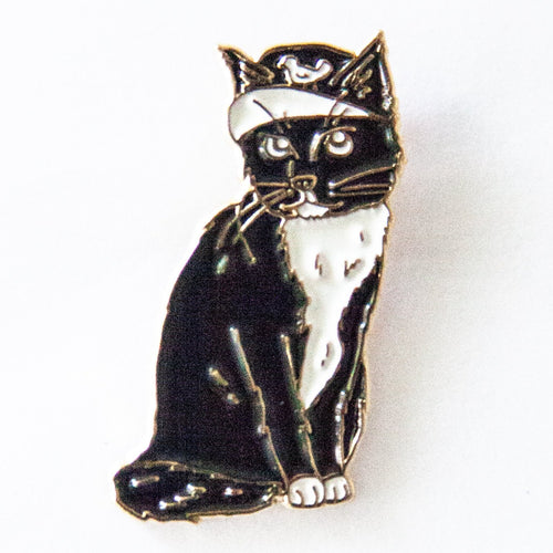 Shop Cat Lapel Pin