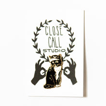 Load image into Gallery viewer, Shop Cat Lapel Pin