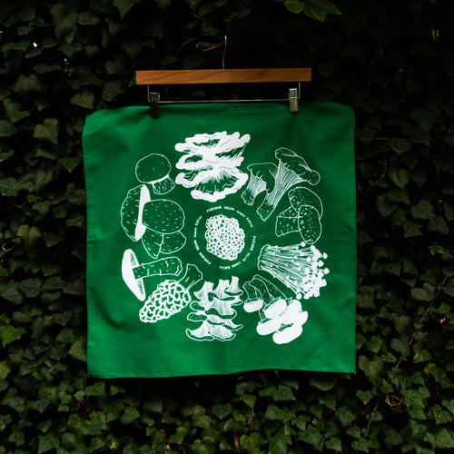 Forage Your Own Path Bandana Green
