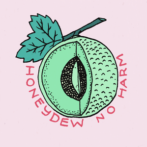 Honeydew No Harm Sticker