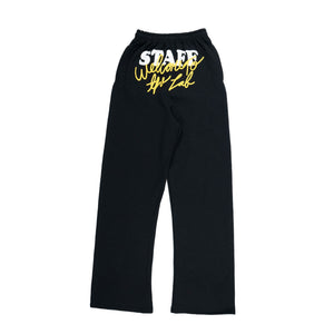 Welcome To The Lab Puff Print Sweats