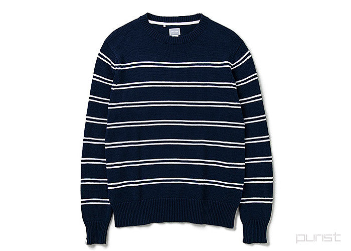 "Mens Sweater ""Aquatic"" - Navy"