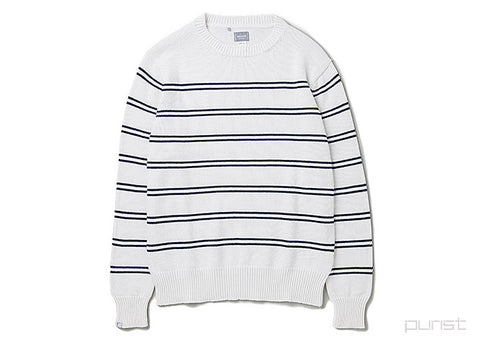 "Mens Sweater ""Aquatic"" - White"