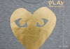 Large Gold Heart - Womens