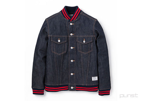 Varsity Denim Jacket - Cassidy
