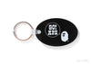 GO APE KEY CHAIN - BLACK