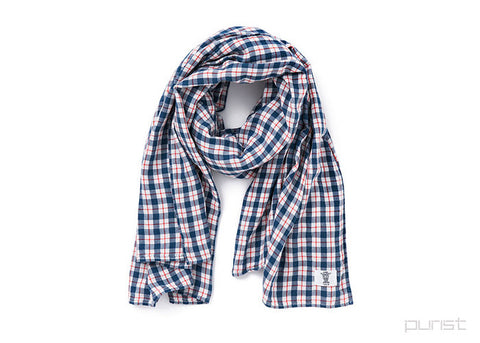 "OG CHECK SHAWL ""LANDIS"""