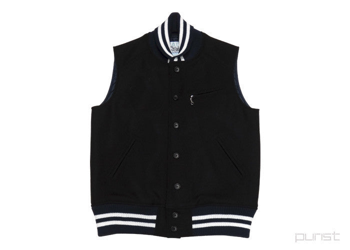 Harris Tweed Varsity Vest