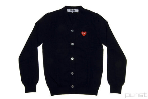 Red Heart Cardigan - Womens