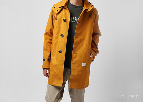 Ball Collar Jacket - Mustard