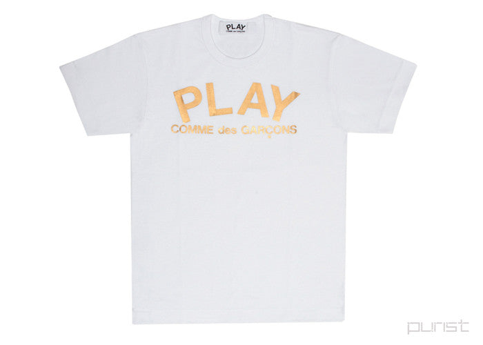 Gold Foil - Play Logo - Womens