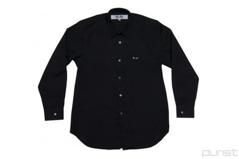 Black Heart Black Dress Shirt