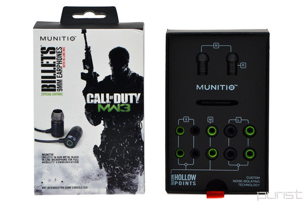 Munitio COD MW3 Billet Headphones
