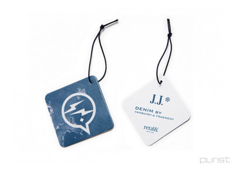 Fragment Design x retaW *JJ- Car Tag