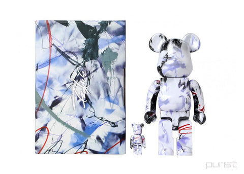 100% & 400% Futura Be@rbrick Set