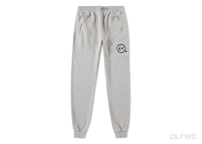 DENIM BY VANQUISH & FRAGMENT SWEAT PANT - Heather Grey