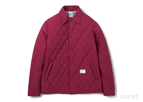 Quilted Coaches Jacket - JILL
