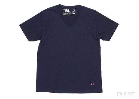Two Pack V Neck T-Shirt - Navy