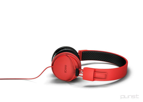 NS700 Phaser Headphones - Red