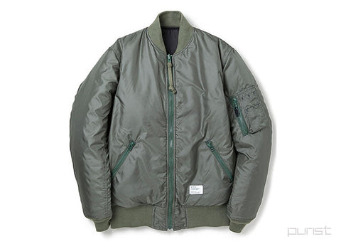 "Reversible MA-1 JKT ""DUFFY"" - Olive"