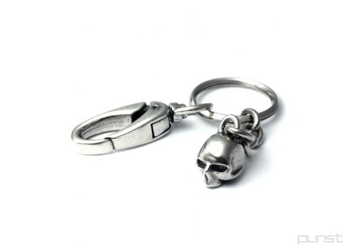 REVOLUTION SKULL KEY HOLDER S - Silver