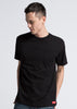 Shine Bright Pocket Tee- Black